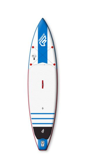 Fanatic Ray Air 12'6''x32'' kickboard blauw/wit